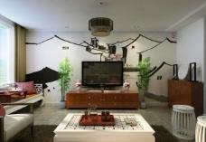 設計比賽作品 客廳背景墻圖片