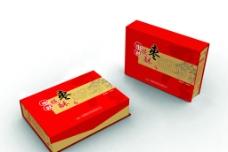 红枣包装(内有展开图)图片
