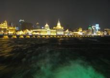 黄浦江夜景图片
