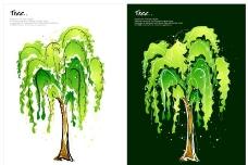 手绘植物 矢量花纹图片