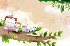 梦幻插画图片