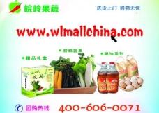 蔬果团购海报图片