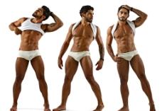 男内裤男模人体图片