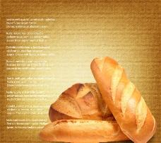 面包背景图片