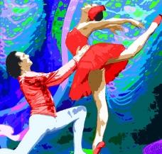 双人舞图片