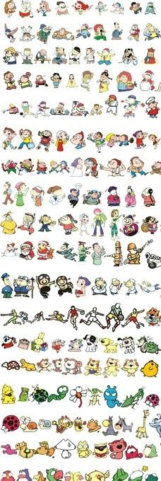 卡通人物大全图片