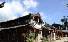 丽江束河古镇图片