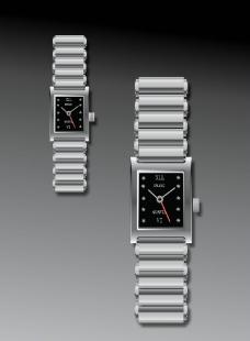 银色手表设计图片