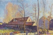 乡下房子图片