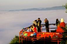 清晨喇嘛山摄影人