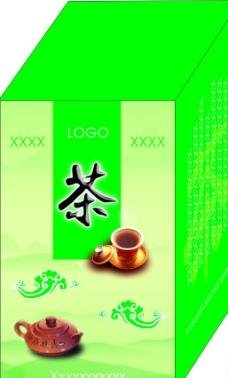 茶叶盒 (效果图)图片