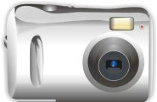 数码相机矢量图图片