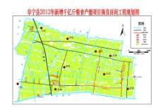 高标准良田工程规划图图片