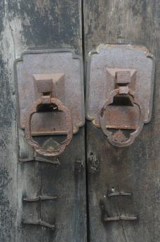 门环 婺源老宅门环图片