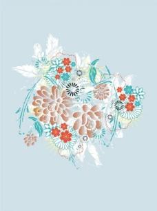 花卉 矢量图片