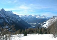西藏雪山风景图片