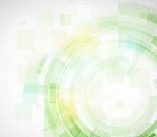 动感线条圈圈科技背景图片
