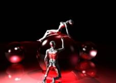 人体模型设计图片