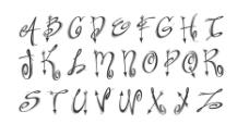 手写字体图片