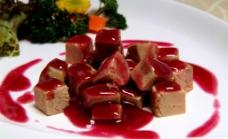 法国红酒鹅肝图片