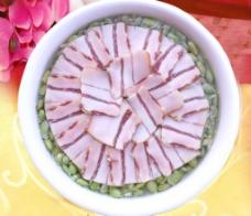 毛豆蒸刀板香图片