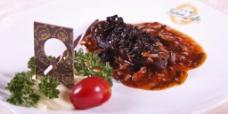 橄榄菜肉米海参图片