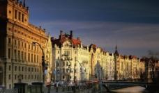 布拉格都市风景图片