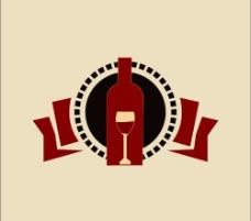 红酒标志图片