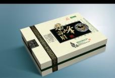 香峰寿眉茶礼盒(展开图)图片