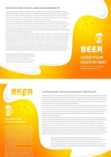 啤酒背景图片