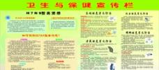 卫生宣传栏 CDR图片