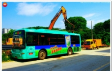 深圳坪山汤坑公交站图片