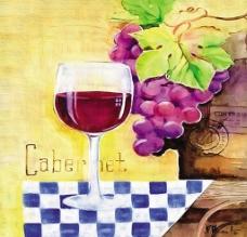 水果和美酒图片