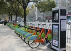 镇江公共自行车图片