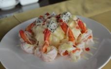 鲜虾水果沙拉图片