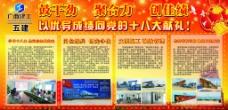 广西建工十八大宣传图片