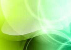 绿色梦幻矢量背景图