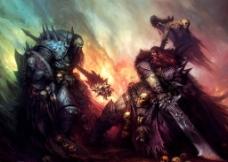 战锤游戏原画图片