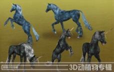 高清3D獨角獸圖片