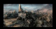 都市废墟图片
