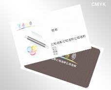 印刷名片图片