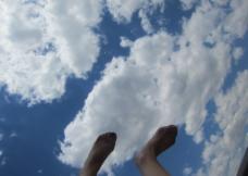 太原的蓝天图片