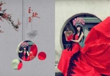 古典婚纱摄影图片