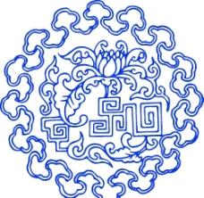 青花瓷图案图片