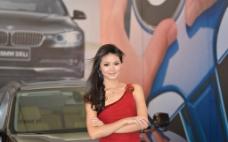 车模美女图片