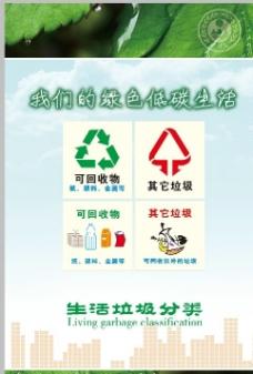 环保生态宣传系列海报图片