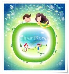韩国可爱卡通儿童矢量图下载