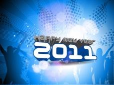 2011字体设计矢量图下载