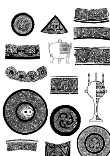 矢量古代吉祥图案图片