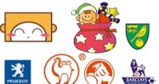 卡通logo标志设计图片
